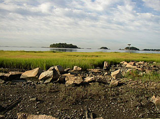 View of the Thimble Islands